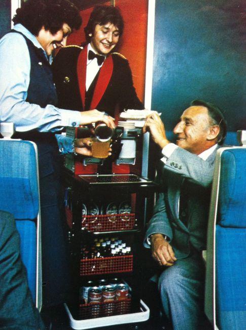 1980s Intercity Service Onboard