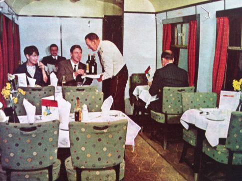 Dining Car 1960s-485